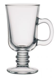 Стеклянная чашка 225 мл для латте, капучино, какао, глинтвейна UniGlass Irish Coffee Mug