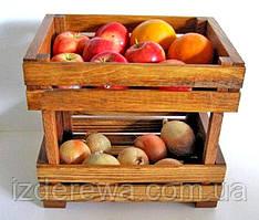 """Лоток для овощей и фруктов """"Эгплант""""  мускат"""