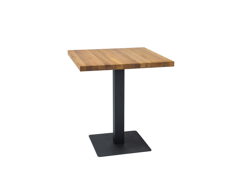 Стол обеденный  Puro 80x80 дуб (Signal)
