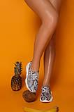 Женские кожаные кеды с анималистическими принтами Ted Wild Animal, фото 4