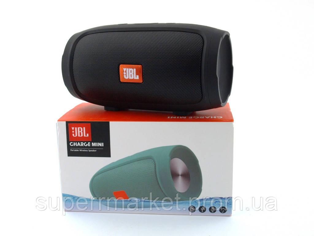 JBL Charge mini 4 копия, портативная колонка с Bluetooth FM MP3, черная