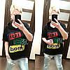 Женская футболка с капюшоном в расцветках, р-р 44-52. РО-14-0419, фото 2