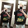 Женская футболка с капюшоном в расцветках, р-р 44-52. РО-14-0419, фото 3