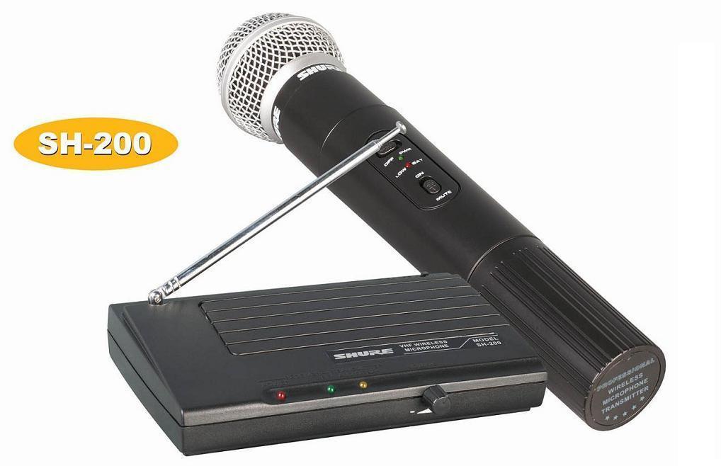 Радиомикрофон Shure SH-200 SM-58  Радиосистема - MegaSmart в Днепре