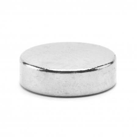 Неодимовый магнит D10 х h3 мм, диск (сила ~ 1.8 кг)