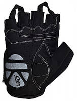 Велоперчатки PowerPlay M Черные (5024_M_Black)