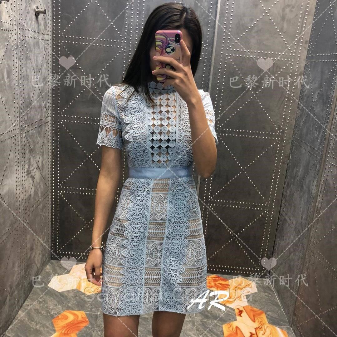 Женское комбинированное платье в расцветках. АР-26-0419