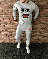 Мужской спортивный костюм, чоловічий спортивний костюм Supreme S1257