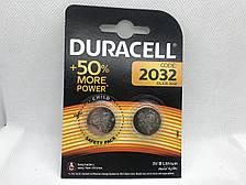Батарейки Duracell DL2032 CR2032 2 шт