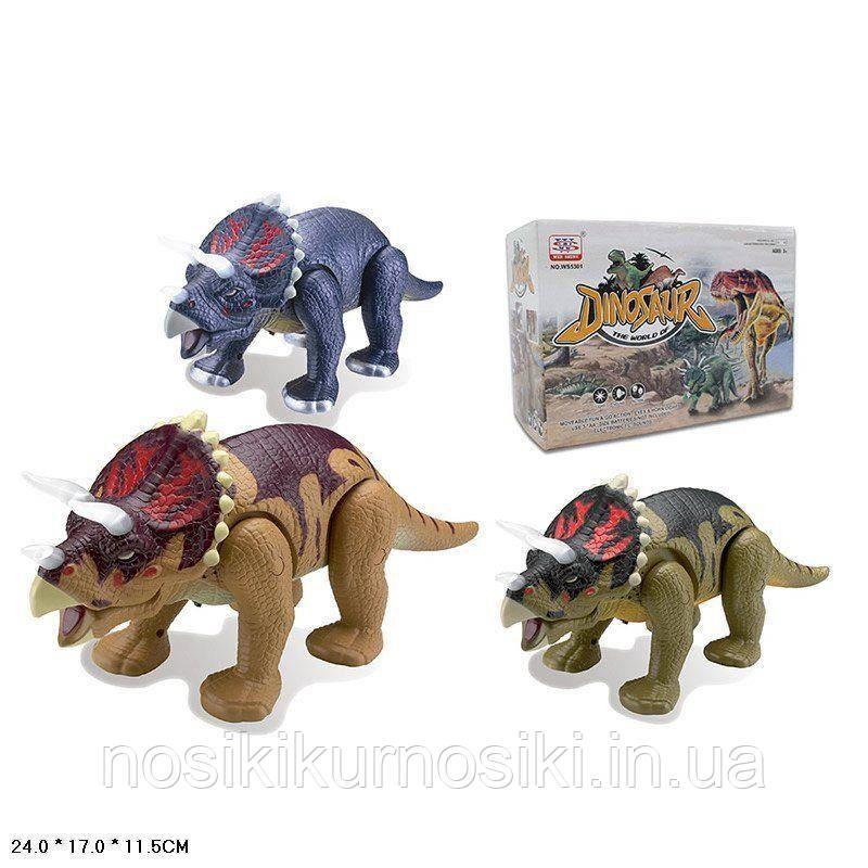 Динозавр интерактивный WS 5301 звук, ходит