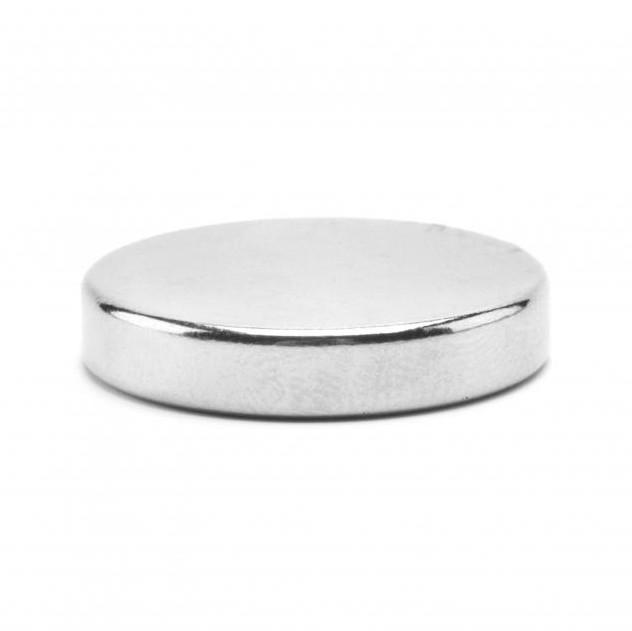 Неодимовый магнит D15 х h3 мм, диск (сила ~ 2.8 кг)