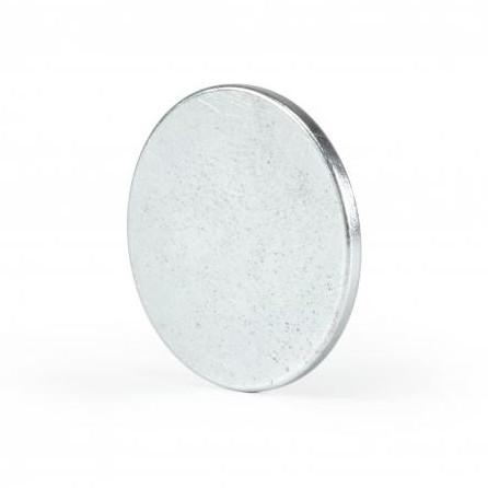 Неодимовый магнит D20 х h1.5 мм, диск (сила ~ 1.6 кг)