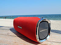 Портативная стерео колонка акустика Hopestar A6 Bluetooth, MP3, AUX, Mic Красная 35W Оригинал