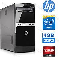 HP 500B - 4 ЯДРА/ 4GB DDR3/ Radeon HD6570 1GB DDR3/ 250GB HDD Системный блок, Компьютер, ПК