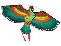 Воздушный змей Птица  Зеленый