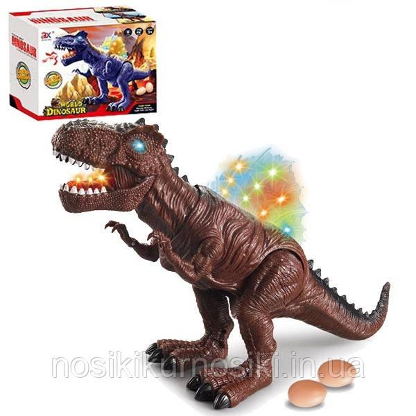 Динозавр интерактивный 823B звук, свет, ходит, несет яйца