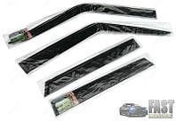 Дефлекторы окон, ветровики ВАЗ 2109, 21099, 2114, 2115 AV Tuning