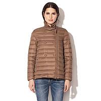 Куртка женская Geox W5425L CUB 38 Коричневый (W5425LCUB)