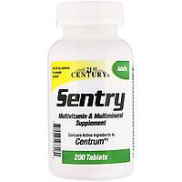 Sentry, мультивитаминная и мультиминеральная добавка, 130 таблеток, 21st Century