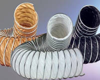 Вентиляционные воздуховоды гибкие из Тефлона термостойкие