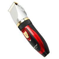 Профессиональная машинка для стрижки волос с двумя аккумуляторами Gemei GM 550 100107, КОД: 107961