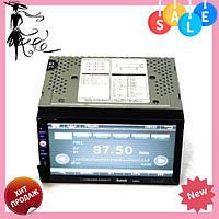 "Автомагнитола MP3 2DIN 6910 GPS USB (DVD) | Автомобильная магнитола | 7"" экран GPS-Mp3-Dvd-Tv/Fm-тюнер, фото 1"