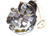 Щеткодержатель стартера Citroen Jumpy 2.0 hdi 2006-. Щетки в комплекте. Ситроен Джампи хди.