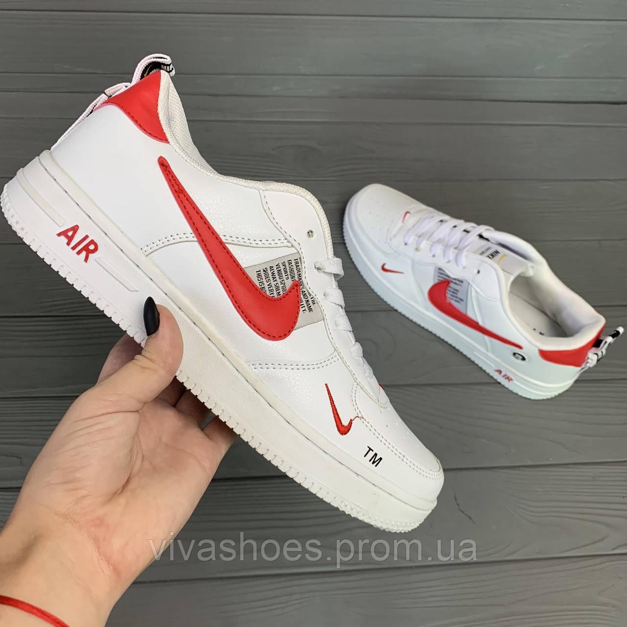 ecf04a27 Кроссовки мужские Nike Air в стиле Найк Аир, натуральная кожа, текстиль код  RD-