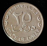 Монета Катара 25 дирхам 1993 г.