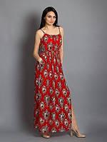 Стильный женский сарафан в расцветках