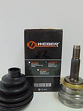 Weber CVJ 96257804-22 Шрус наружный Daewoo Lanos