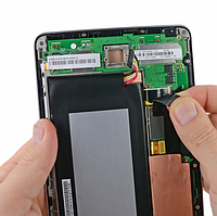 Замена Дисплея в Nexus 7