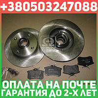 ⭐⭐⭐⭐⭐ Комплект тормозной задний SEAT CORDOBA, TOLEDO 01/91-10/99,VW GOLF 08/91-09/97 (пр-во REMSA)