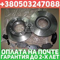 ⭐⭐⭐⭐⭐ Комплект тормозной задний ФОРД TRANSIT 2.2-3.2 06-2014 (производство  REMSA)  81252.00