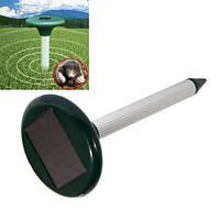 Отпугиватель кротов +солнечные батареи