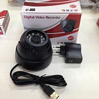 Камера видеонаблюдения купольная  Запись подсветка