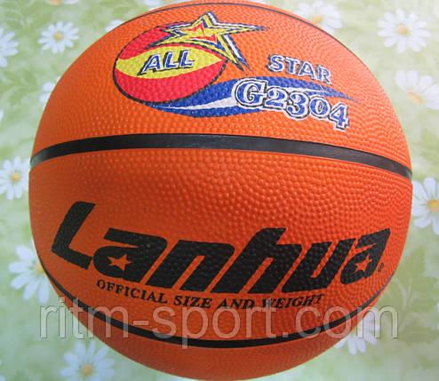 Мяч баскетбольный LANHUA G2304 №7, фото 2