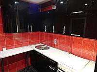Кухня комбинированная 3 цвета. Кухня на заказ Днепр., фото 1
