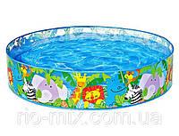 Детский каркасный бассейн Африка Intex 58474 (122 х 25 см)