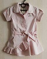 Брендовое платье для девочки от Guess.