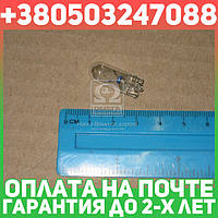 ⭐⭐⭐⭐⭐ Лампа накаливания W5W 12V 5WW2,1X9,5d  LongerLife EcoVision (пр-во Philips)