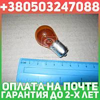 ⭐⭐⭐⭐⭐ Лампа накаливания PY21W 12V 21W BAU15s LongerLife EcoVision (пр-во Philips)