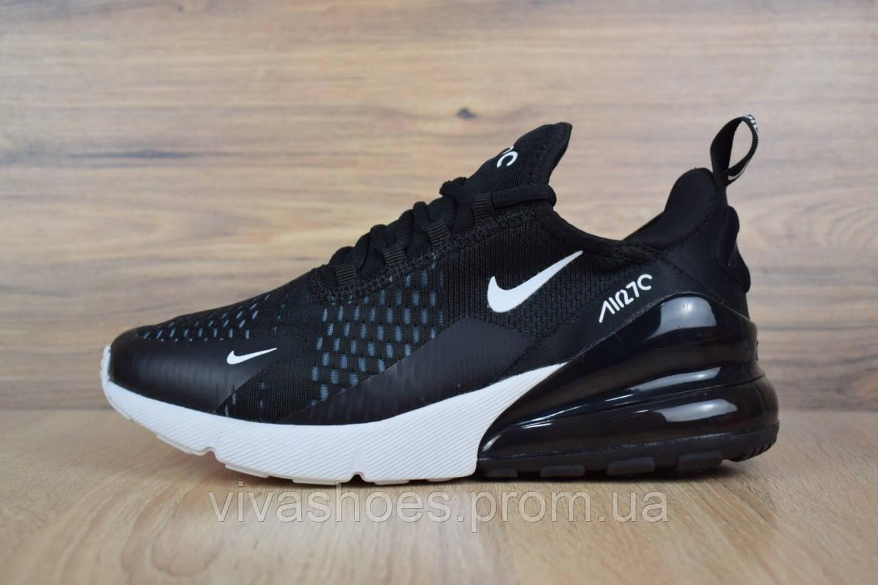 d25c4344 Кроссовки мужские Nike Air Max 270 в стиле Найк Аир Макс, текстиль,  текстиль код