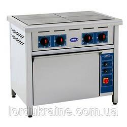 Плита электрическая профессиональная с духовкой ПЕД-4 Кий-В