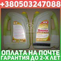 ⭐⭐⭐⭐⭐ Антифриз SIBIRIA ANTIFREEZE ОЖ-40 G11 (желтый) 10кг  361