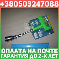 ⭐⭐⭐⭐⭐ Ключ свечной,пластиковая ручка,  усиленный 21мм