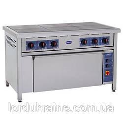 Плита электрическая профессиональная с духовкой ПЕД-6 Кий-В