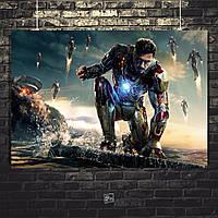 Постер Железный Человек, Iron Man. Размер 60x42см (A2). Глянцевая бумага