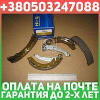 ⭐⭐⭐⭐⭐ Колодки тормозные барабанные ДЕО MATIZ,TICO задние (производство  SANGSIN)  SA086