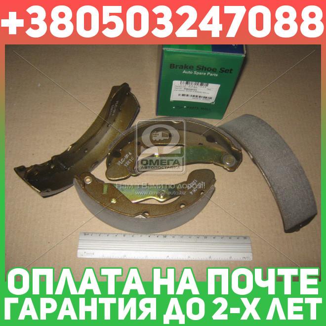 ⭐⭐⭐⭐⭐ Колодки тормозные барабанные ДЕО LANOS (производство  PARTS-MALL)  PLC-004